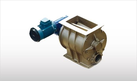 Blow-Through Rotary Valves